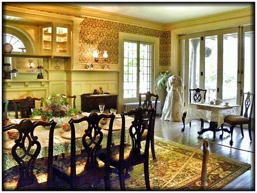 Sonnenberg Gardens & Mansion ~ Historic Park ~ Canandaigua NY ~ Dining Room   by Onasill ~ Bill Badzo - OFF