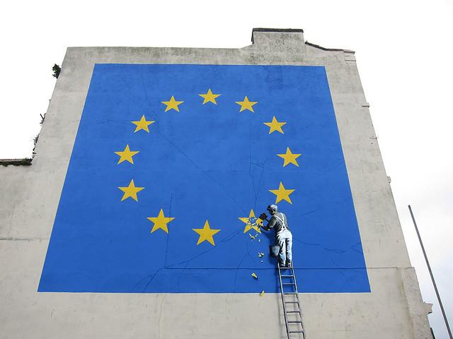 Banksy does Brexit (detail)