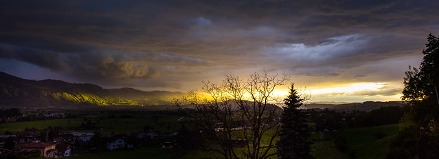 After a thunderstorm - Kaltbrunn - Switzerland