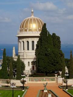 Baha'i tuinen in Haifa   by tijsopreis