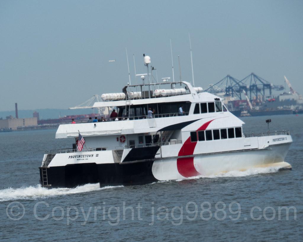 Provincetown III Passenger Ferry, NYC Ferry Rockaway Route