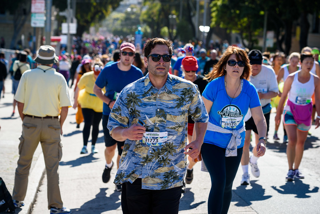 Bay to Breakers 2014 Timelapse - YouTube