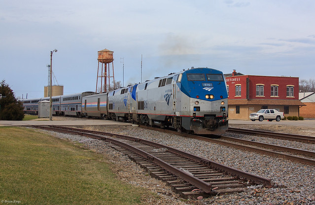 The Southwest Chief - Mendota, Illinois