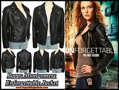 Poppy Montgomery Unforgettable Jacket