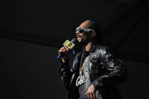 Snoop Dogg on Day 6 of Jazz Fest - May 6, 2017. Photo by Black Mold.
