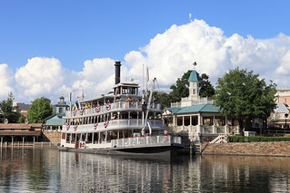 Liberty Square Riverboat | by Sam Howzit