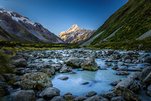 aoraki aorakinationalpark blue canterbury hookerriver hookertrack hookervalley landscape mackenzie mountcook mountcooknationalpark mountain mountainlandscape mountainpeak mountains nature newzealand river snow snowcapped southisland mountainscape nz