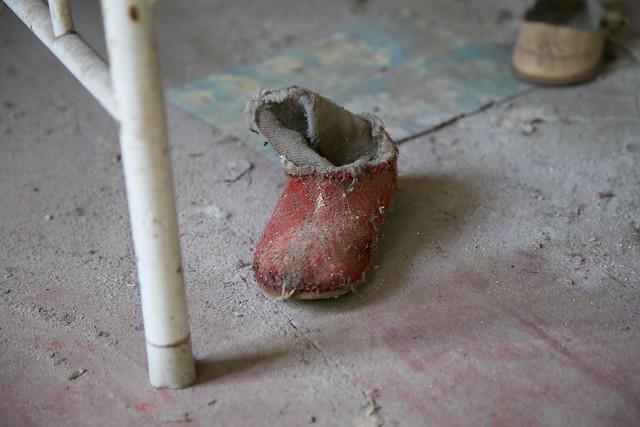 Abandoned Kopachi Kindergarten, Chernobyl Exclusion Zone