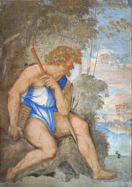 Polyphème de Sebastiano del Piombo (Villa Farnesina, Rome)