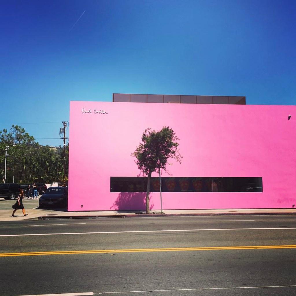 Image result for pink wall melrose
