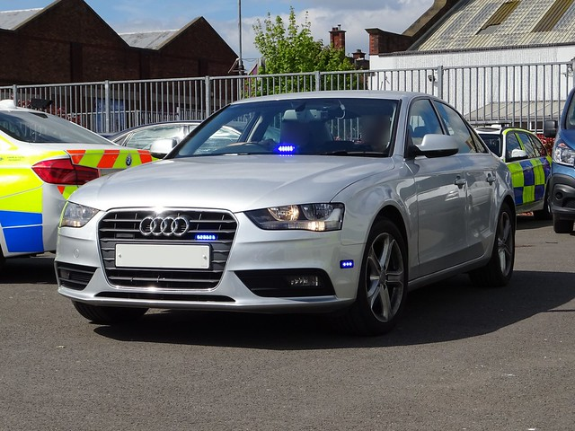 West Midlands Police Unmarked Audi A4 Traffic Car **13 ***, Birmingham.