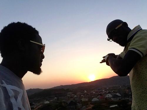 sunsetoverushafavillage abuja nigeria jujufilms