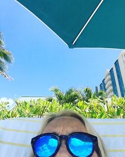 #beach #umbrella #lidobeach | by cjBlueCreates