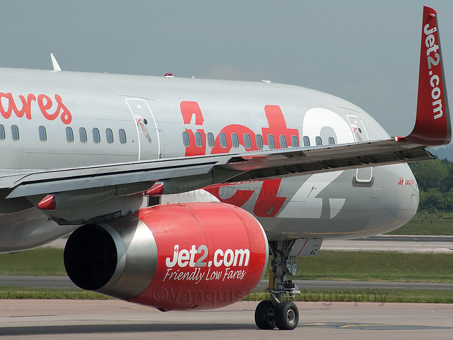 G-LSAC Jet2 Airline B757-200 Manchester Ringway Airport