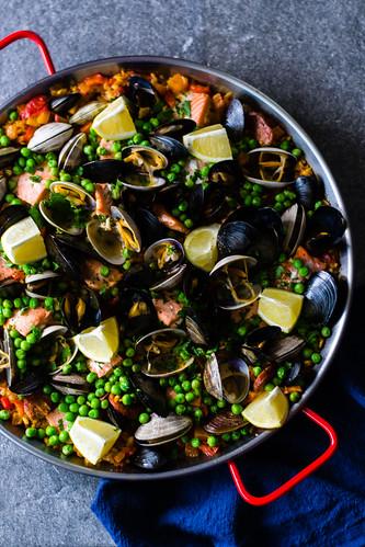 Seafood and Chorizo Paella | by FerraroKitchen1