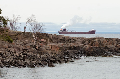 Duluth Trip - MV Lee A Tregurtha arrives in Two Harbors | by pmarkham