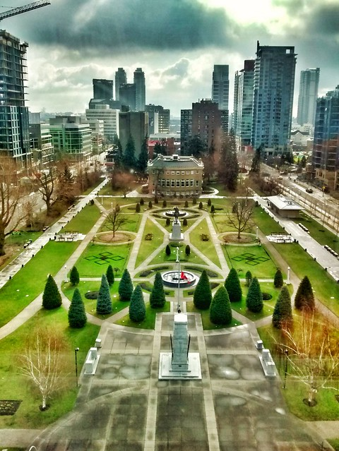 Central Memorial Park, Calgary, AB