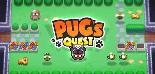 Pug's Quest per Android e iPhone - un divertente 'puzzle casual'