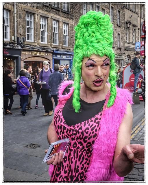Colourful Edinburgh