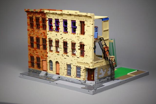 [WIP]  [MOC] Worn down building