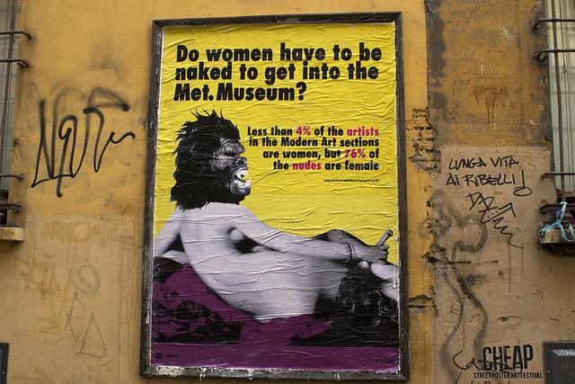 GUERRILLA GIRLS | CHEAP street poster art festival 2017