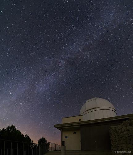 Observatori Castelltallat i Via Làctia