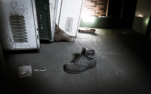you lost a boot | by teresa sorbilli