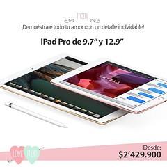 """¡Demuéstrale todo tu amor a  mamá con un detalle inolvidable! iPad Pro de 9.7"""" y 12.9"""" disponibles en @compudemano al mejor precio #cadadiamejor. Visita nuestra tienda o llámanos Bogotá: (1) 381 9922 - Medellín: (4) 204 0707 - Cali (2) 891 2999 - Barranqu"""