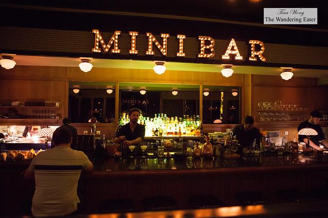 Bar area of Mini Bar