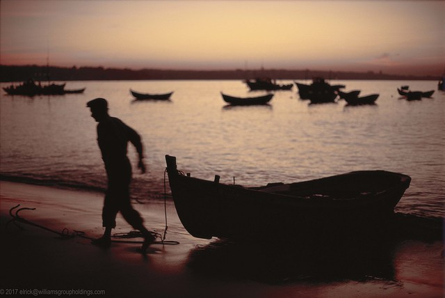 Early Morning Fisherman