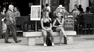 Lunch, Cours Mirabeau, Aix-en-Provence (fr)