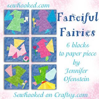 Fanciful Fairies - 6 Patterns To Paper Piece