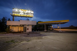 Abandoned Gas Station III | by Notley Hawkins