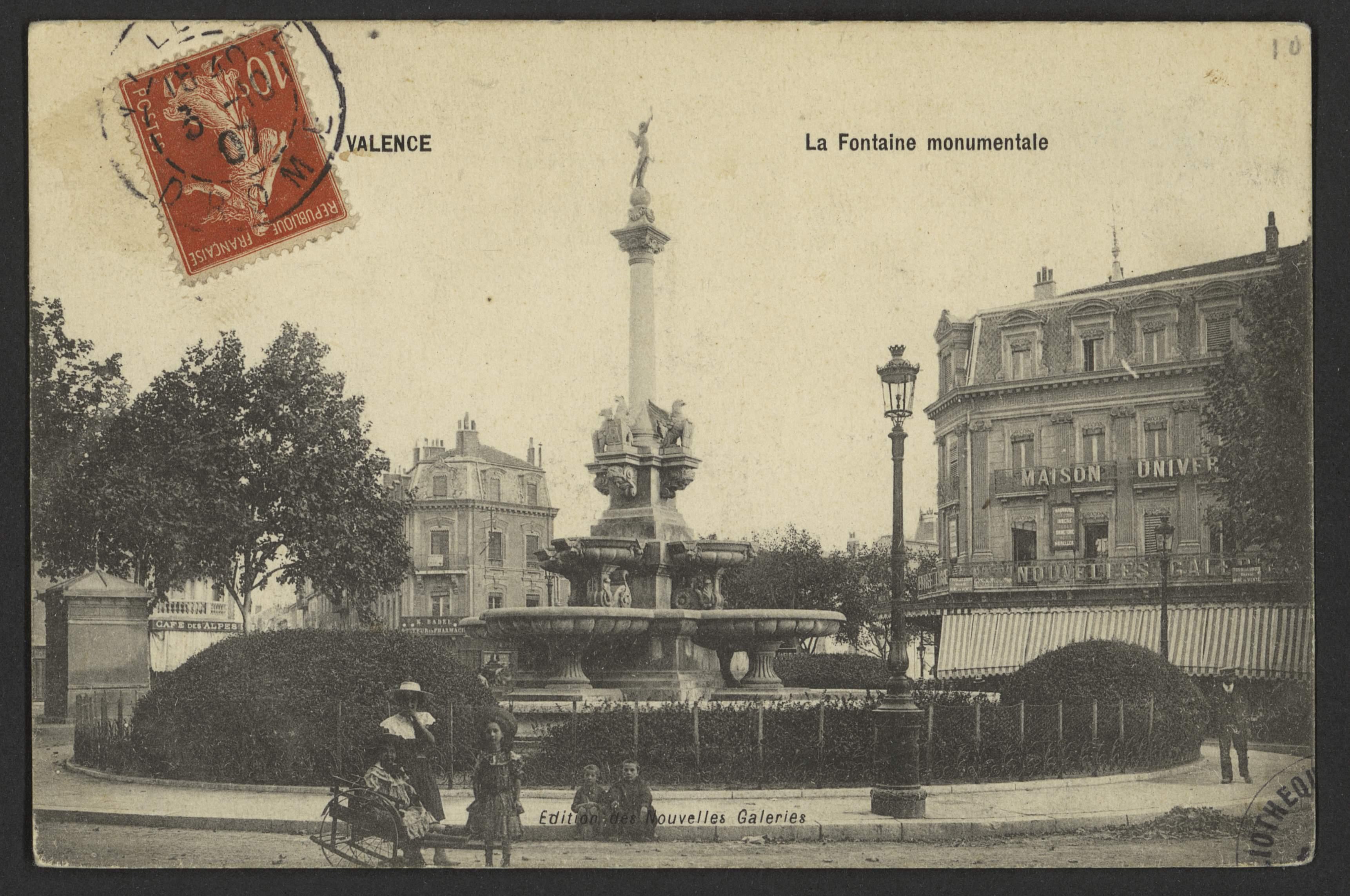 Valence - La Fontaine monumentale