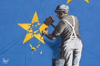 Banksy in Dover | by Butterfly Art News