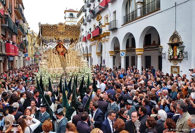 Esperanza de Triana. Madruga 2017, Sevilla-
