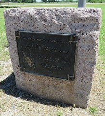 Washington Irving's Camp Monument (Arcadia, Oklahoma)