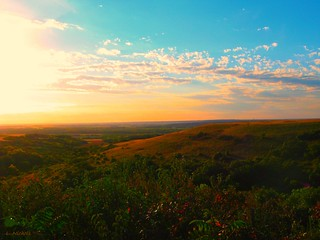 Flint Hills Kansas Sunset | by janeLLoyd Nichols