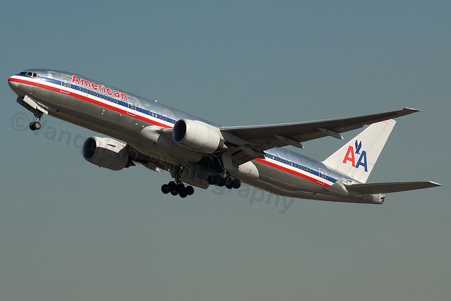 N795AN American Airlines B777-200 London Heathrow Airport Archive