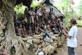FAO workshop Bay Homo Community Conservation Area South Pentecost, Vanuatu