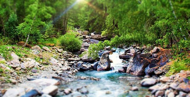 Rivière en Vallouise
