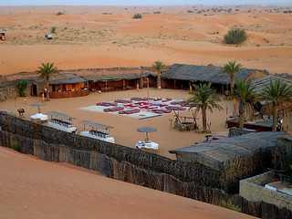 2017 - UAE - Excursion - Morning - Camp from Above I   by SeeJulesTravel