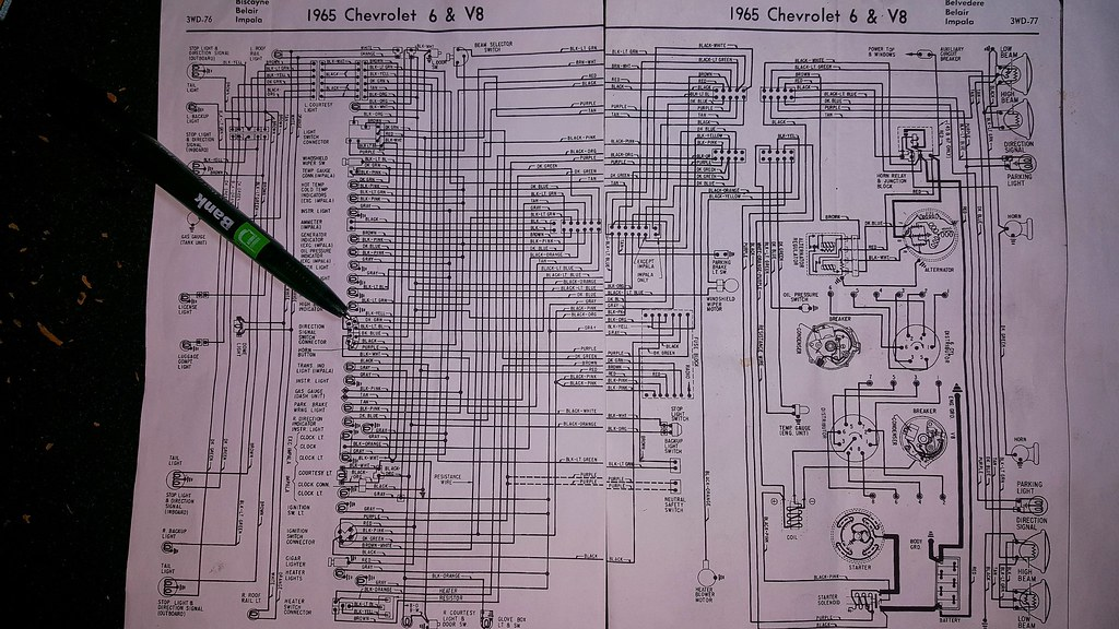 65 Impala Wiring Diagram