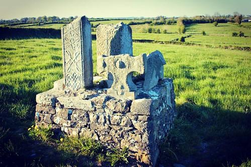 religion cross monastery saint brocaidh patrick castlerea roscommon ireland stone irishnativegenealogy