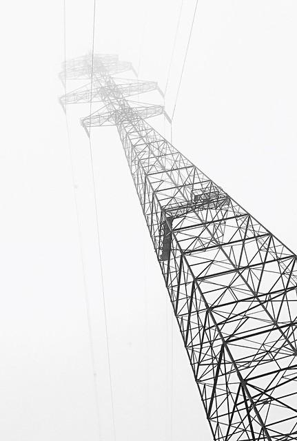 Towering in the Fog