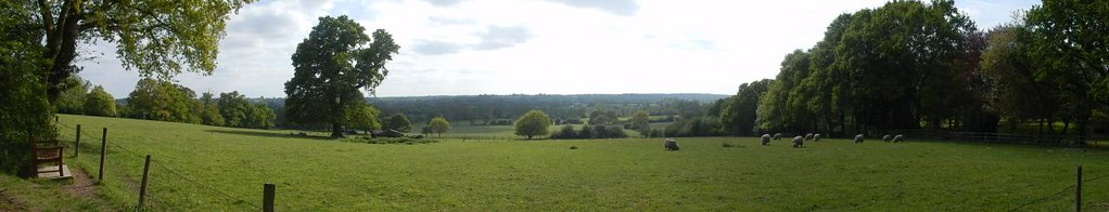 View from East Bergholt Manningtree Circular