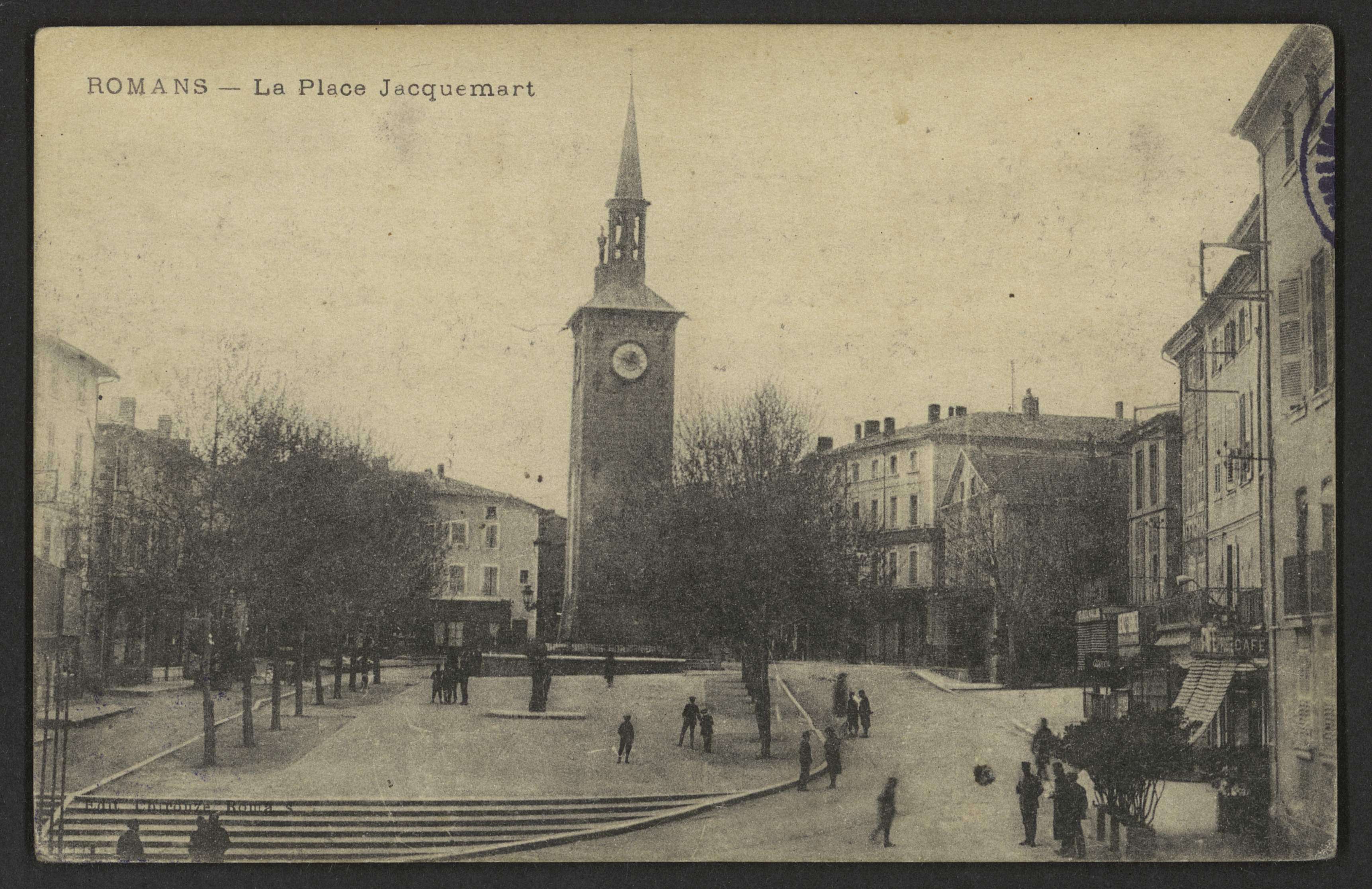 Romans - La Place Jacquemart