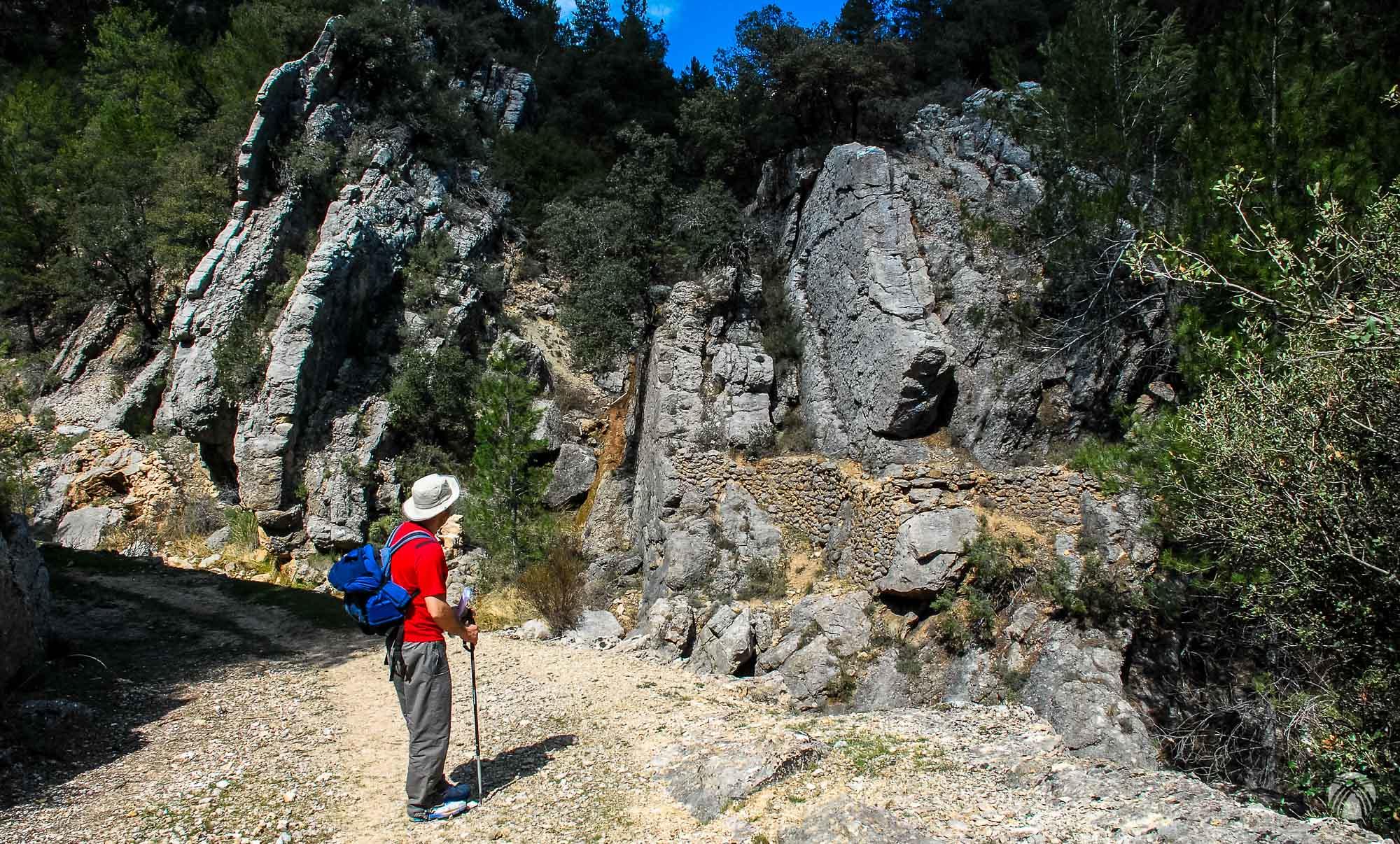 Caminando hacia el Prado de Juan Ruiz por el viejo camino