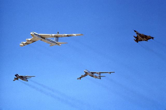 USAF - B-52 + B-47 + B-58 + B-66 [No place & no date]