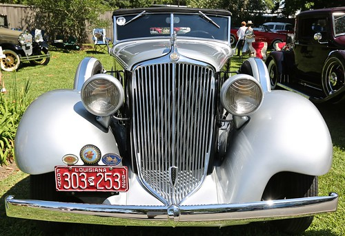 keel and wheels car show auto seabrook tx texas 2017 grille frontal view 1932 32 graham bluestreak blue streak series 57 fiftyseven